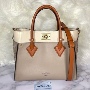 Louis Vuitton On My Side Satchel